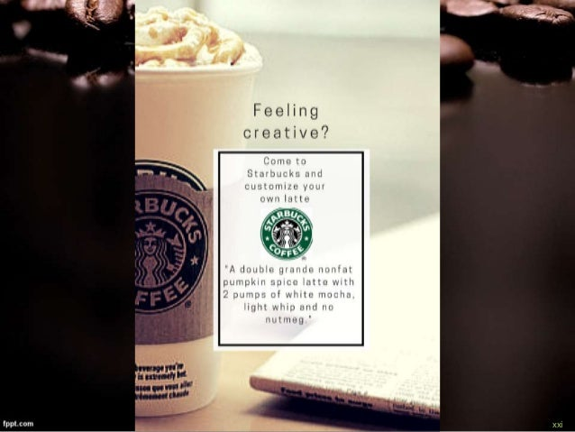 integrated marketing communications starbucks essay At medill, you'll learn to create innovative integrated marketing communications strategies and engage consumers in the digital age by working collaboratively with.