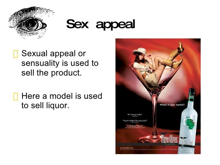 Sex appeal alcohol advertisements
