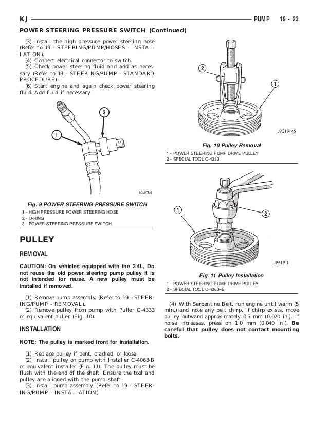 Jeep Liberty 2002 2005 Steering. Kj Hoses Continued 23. Jeep. 2005 Jeep Liberty Front Frame Diagram At Scoala.co