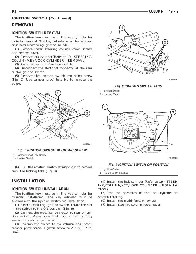 Jeep Liberty 2002 2005 Steering. Kj Column Continued 9. Jeep. 2005 Jeep Liberty Front Frame Diagram At Scoala.co