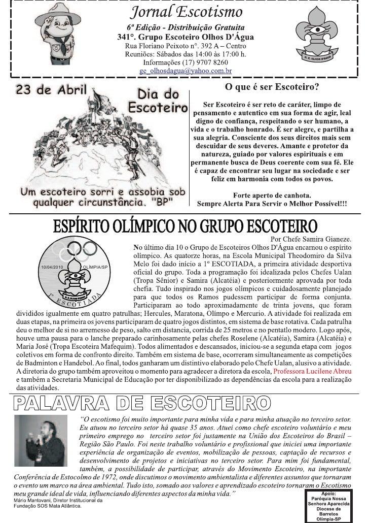 10/04/2010       OLÍMPIA/SP        º                      A   1            ES            D              COT I A