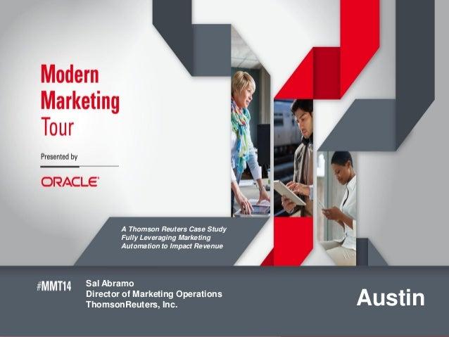 modern marketers tour austin 2014 v8 0a 1 rh slideshare net
