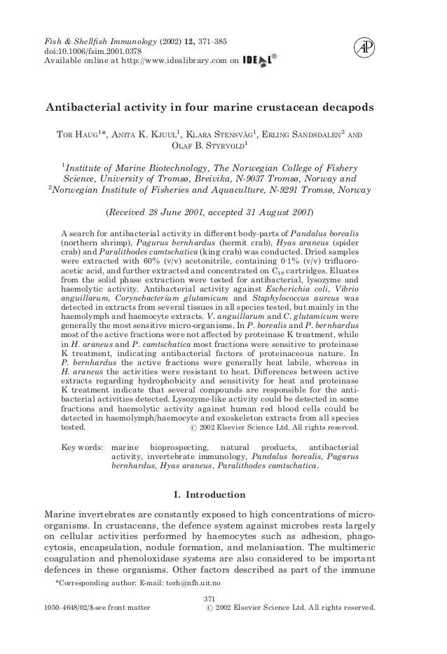 Fish & Shellfish Immunology (2002) 12, 371–385doi:10.1006/fsim.2001.0378Available online at http://www.idealibrary.com onAn...