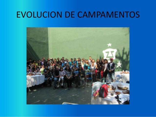 Historia de los campamentos de La Fundación Esperanza Slide 2