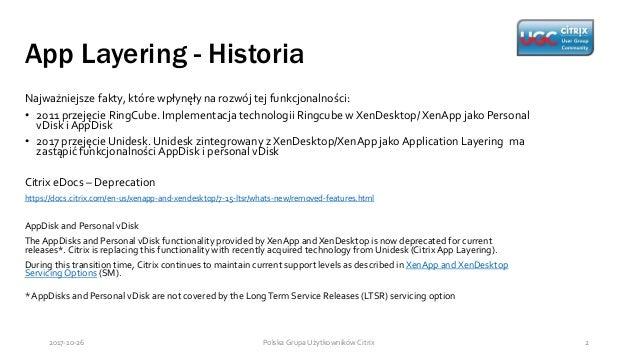 Citrix Application Layering