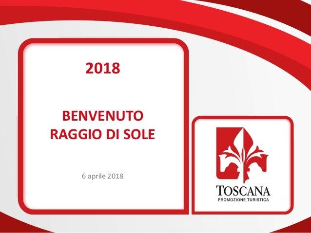 2018 BENVENUTO RAGGIO DI SOLE 6 aprile 2018