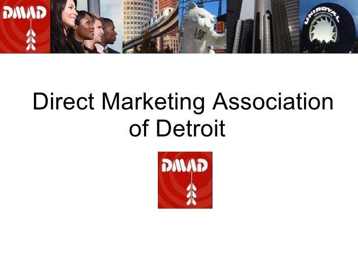 Direct Marketing Association of Detroit