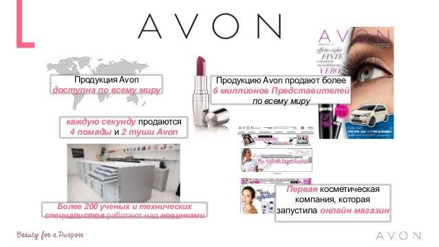 Avon является одной из крупнейших косметических компаний прямых продаж в мире … *DSN Global 100 2015 *WWD 2014 Лидеры сред...