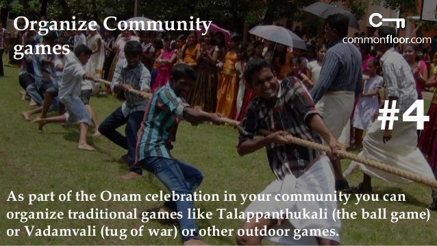#5  Organize a Fancy dress  competition  Onam fancy dress has become a new agenda of celebration as  everybody can join we...