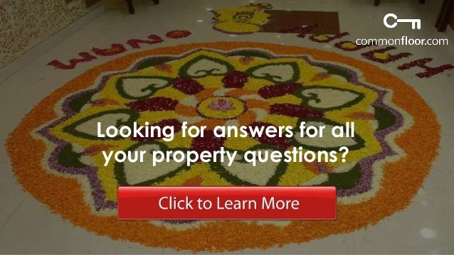 CommonFloor.com is India's leading property search portal.  On a mission to make property search hassle-free, transparent ...