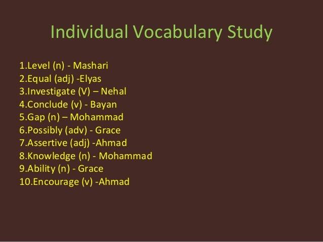 6 b , vocabulary corpus, editing conversation starters