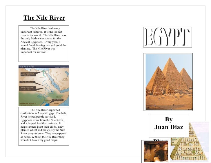 6b diaz juan ancient egypt brochure for Ancient egypt brochure