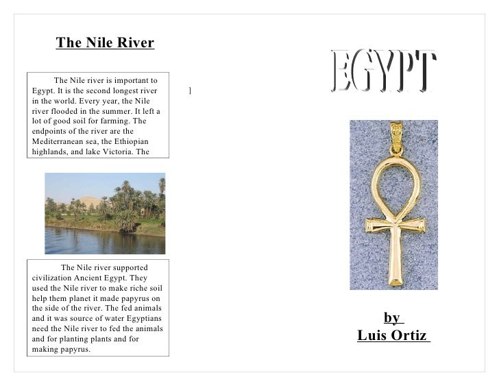 6b ortiz luis egypt brochure for Ancient egypt brochure