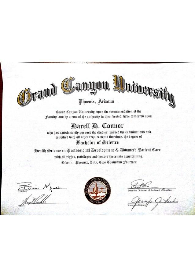 GCU Diploma