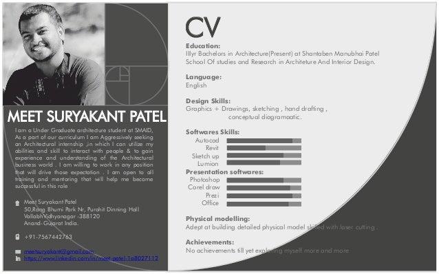 portfolio and cv