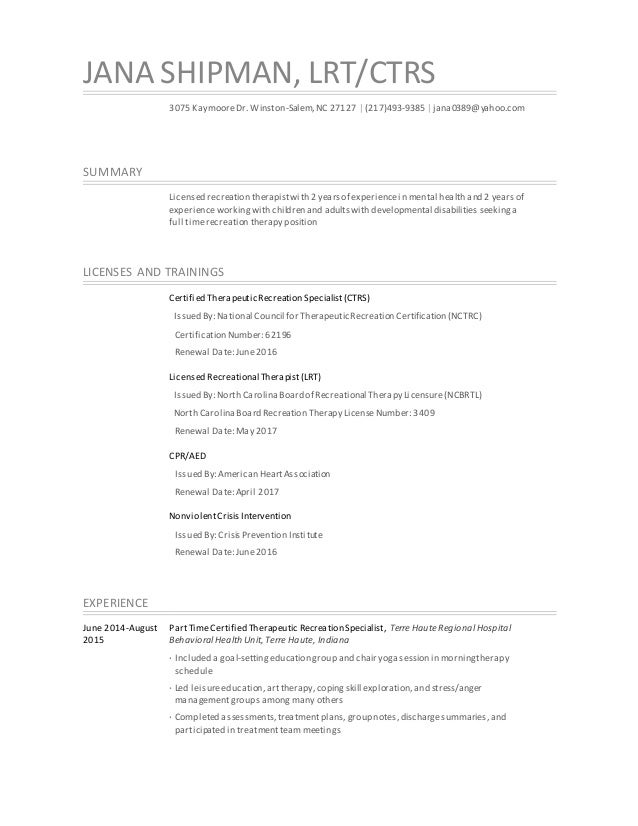 j shipman resume