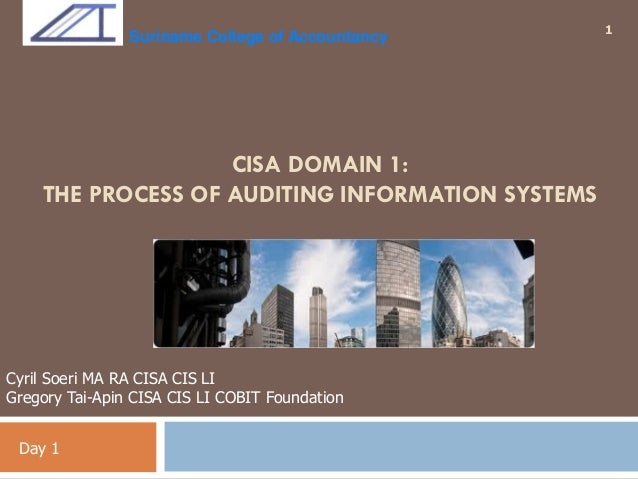auditing in a cis Isa 401- auditing of cis environment - download as pdf file (pdf), text file (txt) or read online cis.