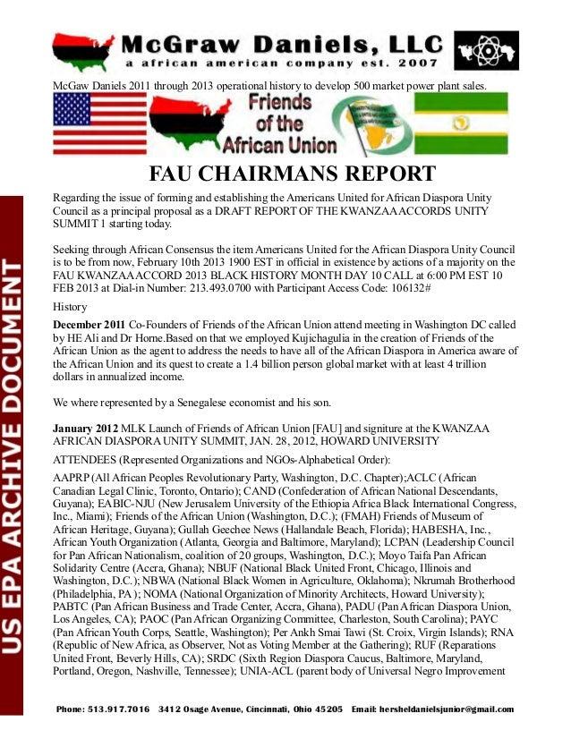 Association and African Communities League, Washington, D.C.); UNIA-ACL LDF (UNIA Legal Defense Fund, Washington, D.C.). O...