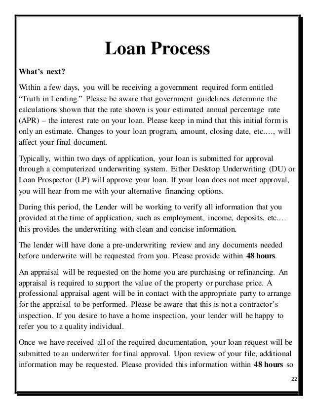 Acceptance of Loan Prospector and Desktop Underwriter Decisions