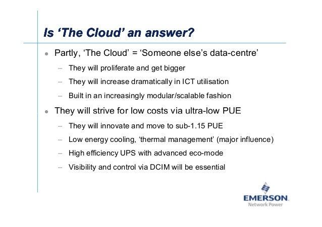 Is 'The Cloud' an answer?Is 'The Cloud' an answer?Is 'The Cloud' an answer?Is 'The Cloud' an answer? Partly, 'The Cloud' =...