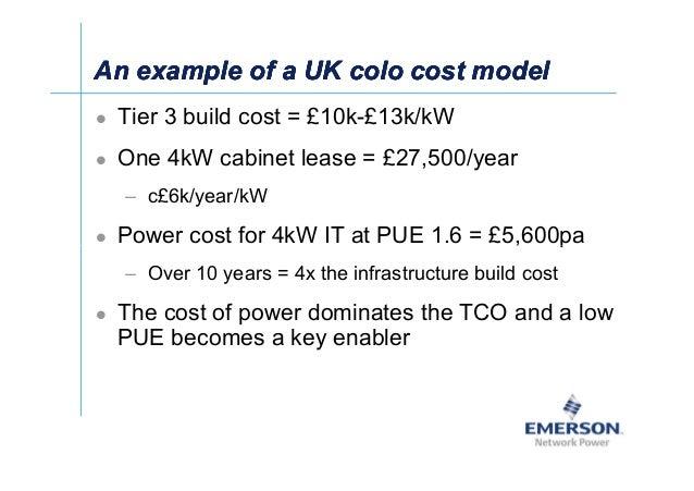 쓠Ў An example of a UK colo cost modelAn example of a UK colo cost modelAn example of a UK colo cost modelAn example of a U...
