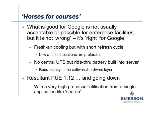 籐Ј 'Horses for courses''Horses for courses''Horses for courses''Horses for courses' What is good for Google is not usually...
