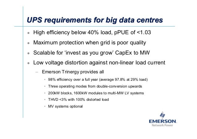 ʀͬ UPS requirements for big data centresUPS requirements for big data centresUPS requirements for big data centresUPS requ...