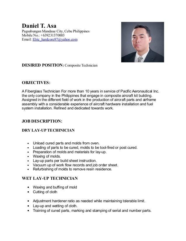 daniel asa  resume