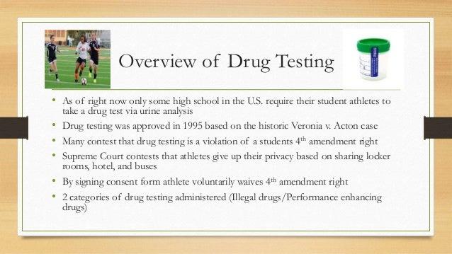 Drug Testing in High School Athletics (Sport Law) (2)