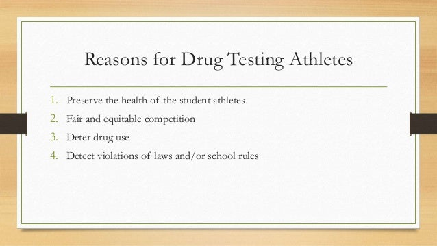 the fourth amendment and the right decision upon drug testing the high school athletes Drug testing and the fourth amendment but upon probable cause this article will discuss the major drug testing decisions in the.