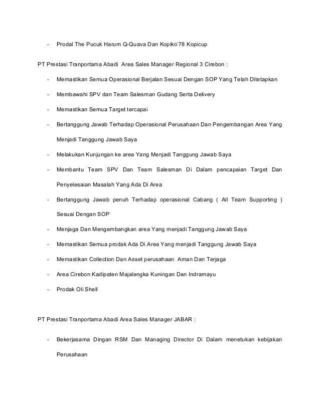 208 Contoh Surat Lamaran Kerja Di Pt Nabati Majalengka