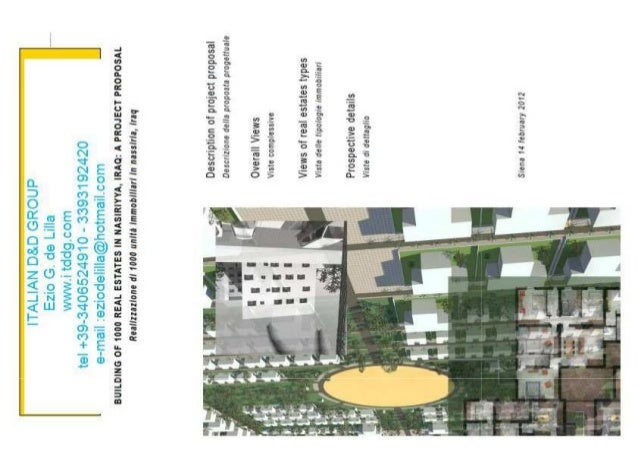 ID&DG DRAWINGS 1000 HOUSING PROJECT NASERIYA