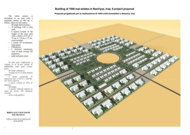 ID&DG DRAWINGS 1000 HOUSING PROJECT NASERIYA Slide 3