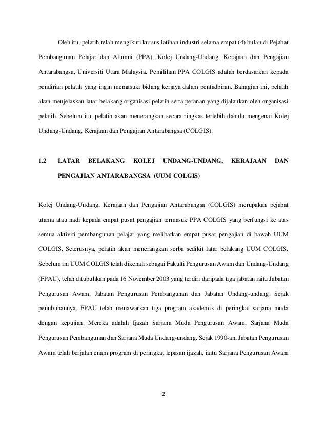 Pendahuluan Laporan Akhir Praktikum 2015