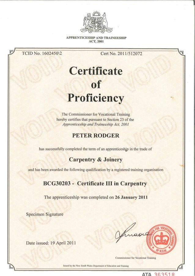 Apprenticeship Certificates Slide 2