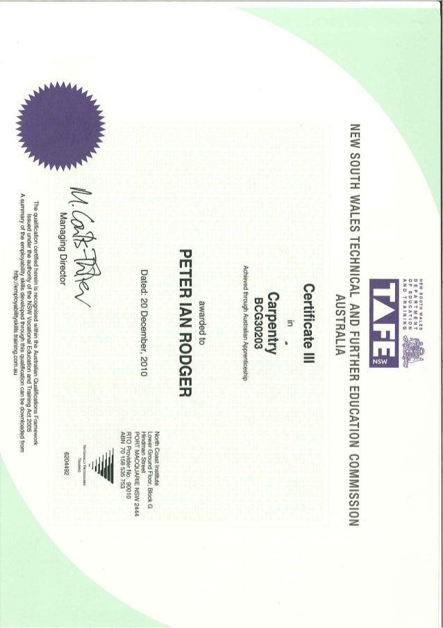 Apprenticeship Certificates Slide 3
