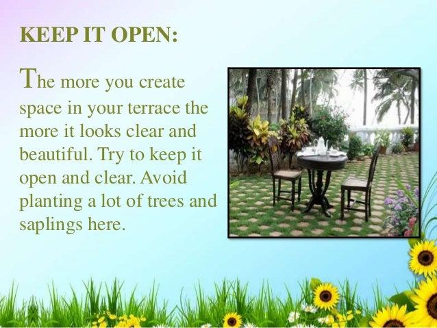 6 beautiful ideas to make your dream terrace garden in kolkata for Open terrace garden designs