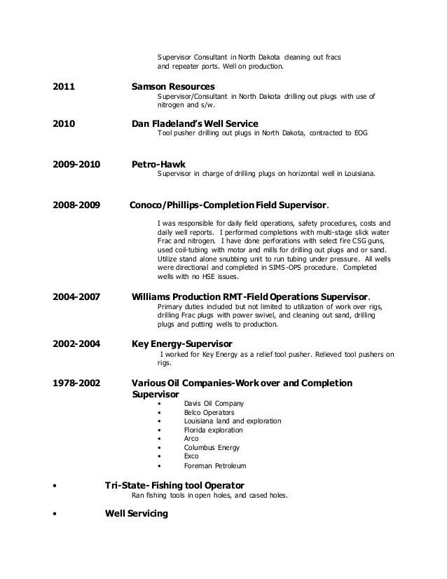 updated resume 7 2016