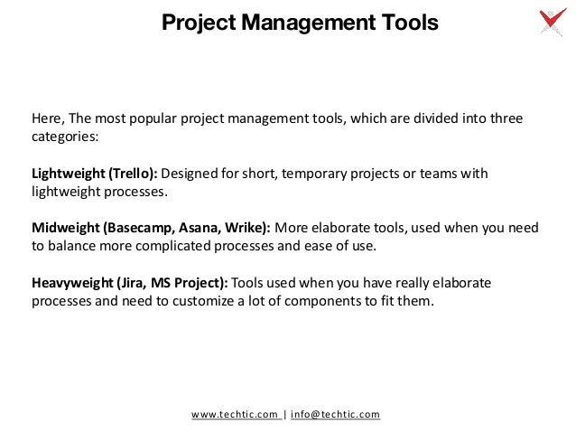 6 Best Project Management Tools Comparison: Jira vs. Trello vs. MS Project vs. Basecamp vs. Asana vs. Wrike Slide 2