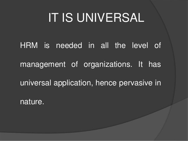 Nature Of Human Resource Records