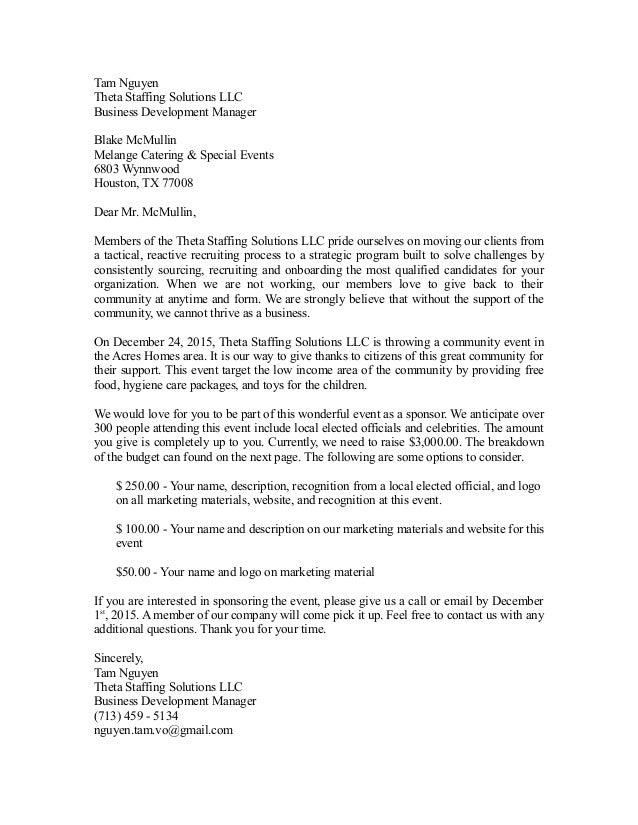 Sponsorship letter sponsorship letter tam nguyen theta staffing solutions llc business development manager blake mcmullin melange catering special events thecheapjerseys Gallery