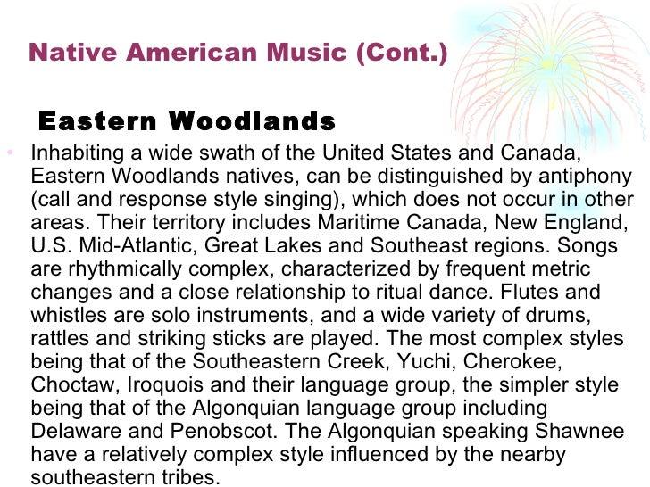 Native american sound instruments essay