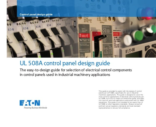 sa08302002e control panel design guide rh slideshare net Industrial Components and Technology Industrial Components and Technology