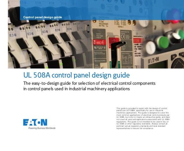 sa08302002e control panel design guide rh slideshare net electrical control panel design guidelines electrical control panel design guidelines