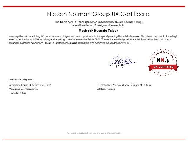 NNG-UX-Certificate-Hussain Talpur