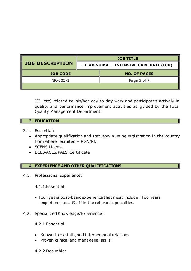 28 critical care description resume critical care resume
