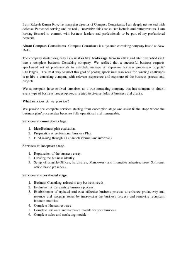 Introduction Compass Consultnats