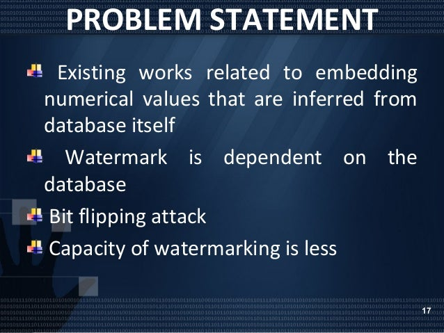 watermarking relational databases Hence, digital watermarking for relational databases emerged as a candidate solution to provide copyright protection, tamper detection, traitor tracing and maintaining integrity of.
