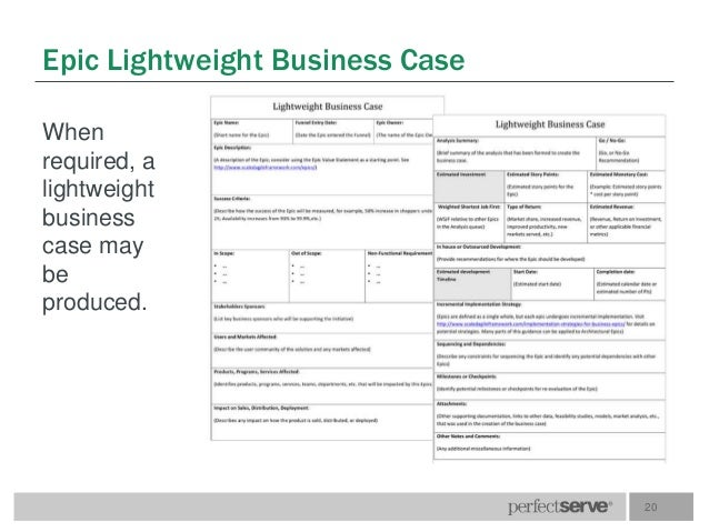 Definitions and terms r1 template 20 epic lightweight business case accmission Image collections