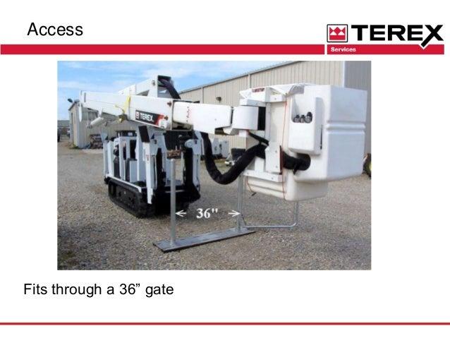 Terex Tl Series Backyard Aerial Device 060916